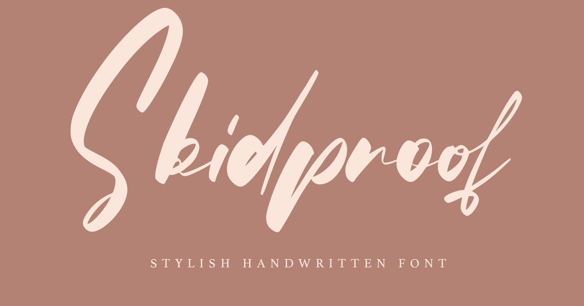 Download Skidproof - Stylish Handwritten Font by arendxstudio