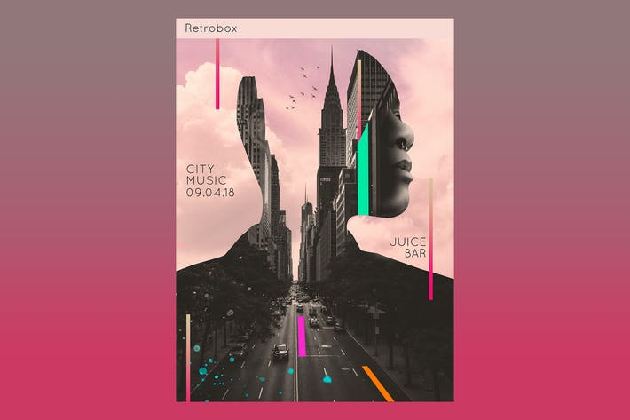 Thumbnail for City In Sound Flyer Poster