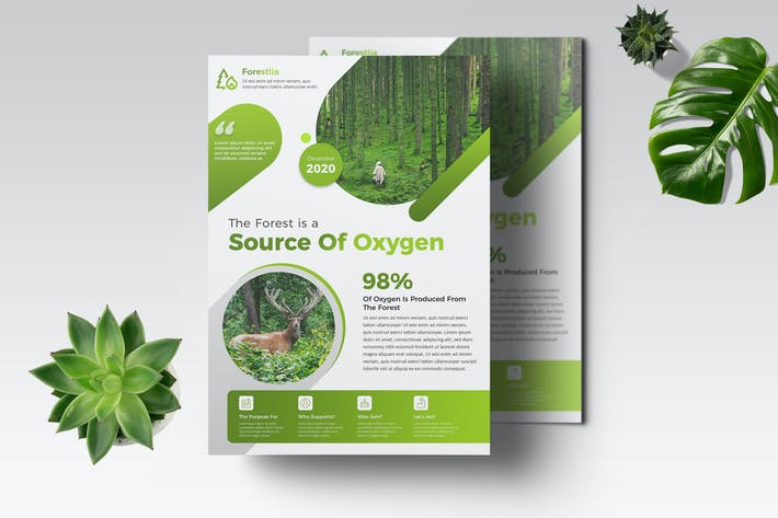 Thumbnail for EcoGreen Flyer Template