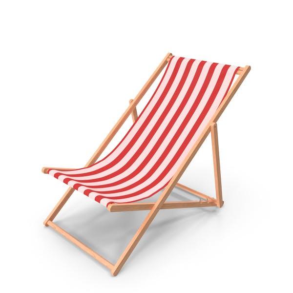 Silla plegable de playa clásica