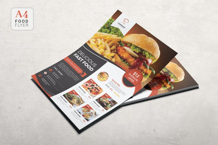 Thumbnail for Food Flyer Template