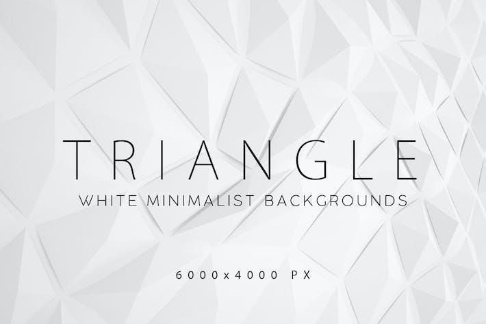 Thumbnail for White Triangle Backgrounds