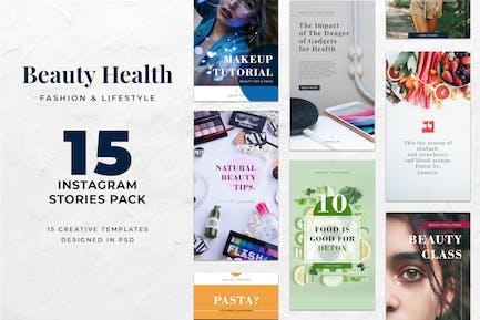 Instagram Stories Beauty Health