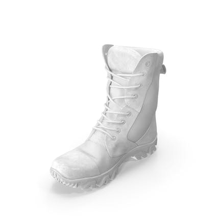 Military Boots White