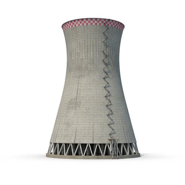 Cover Image for Torre de enfriamiento nuclear