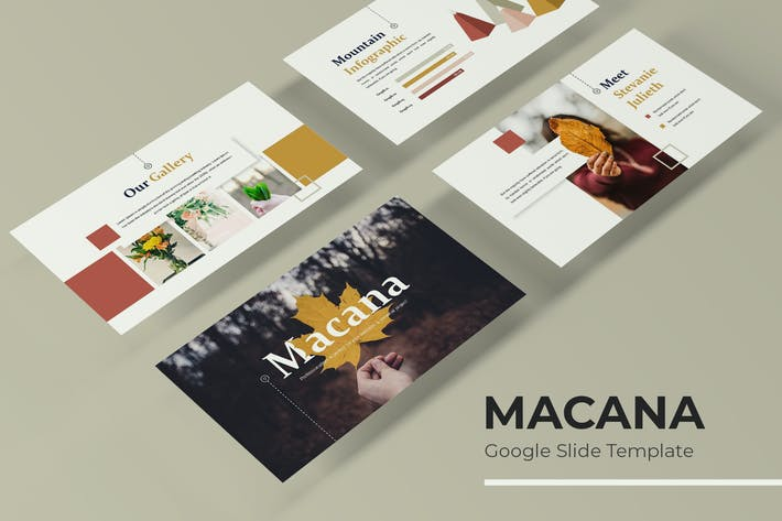 Thumbnail for Macana - Google Slides Template