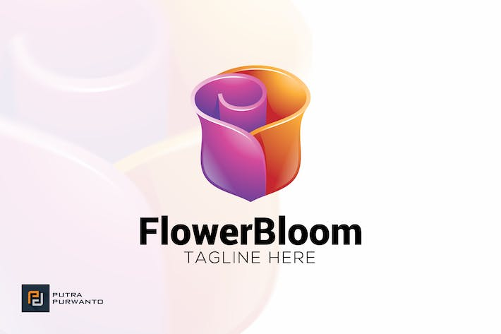 Thumbnail for Flower Bloom - Logo Template