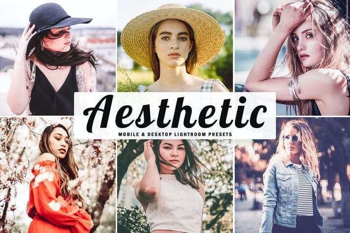 Thumbnail for Aesthetic Mobile & Desktop Lightroom Presets