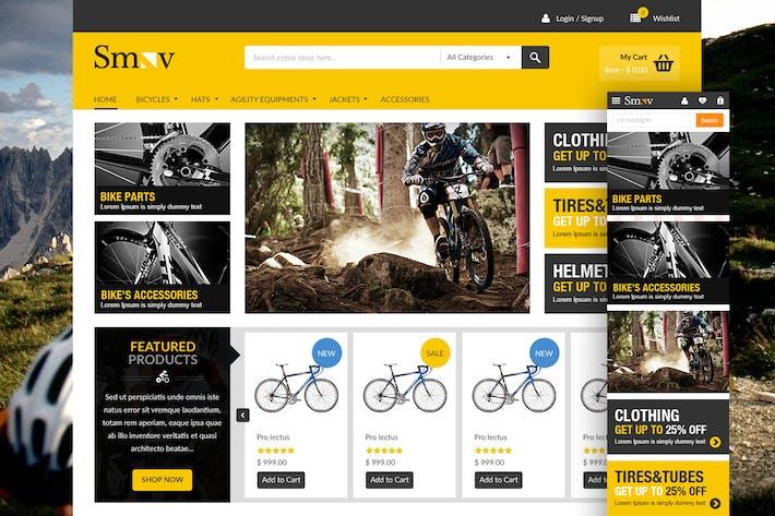 Thumbnail for Shop Landing Page Design Concept