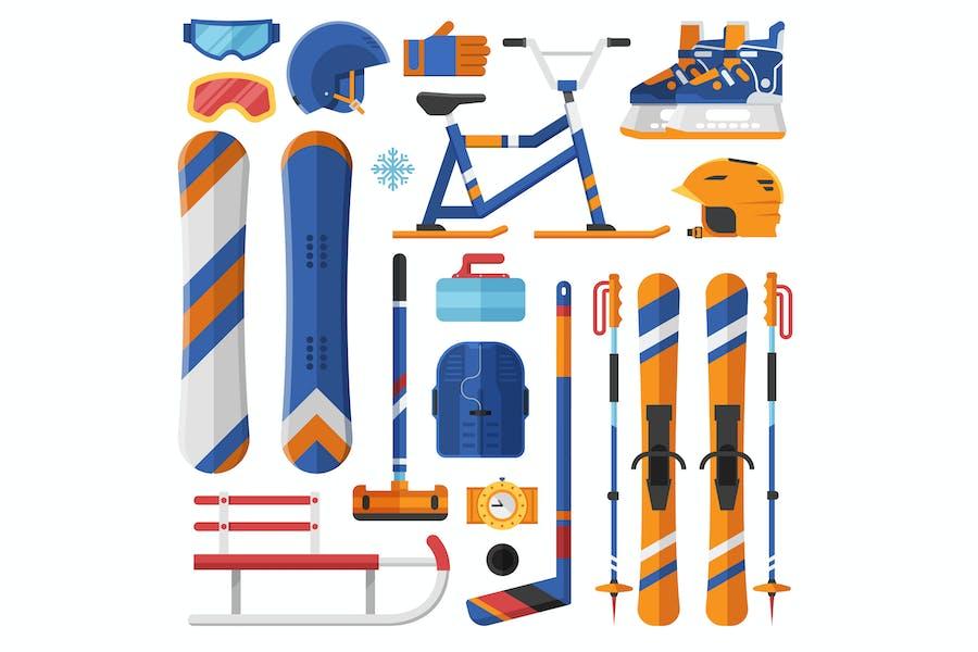 Winter Sport Equipment and Gear