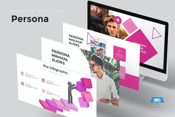 Persona - Keynote Template