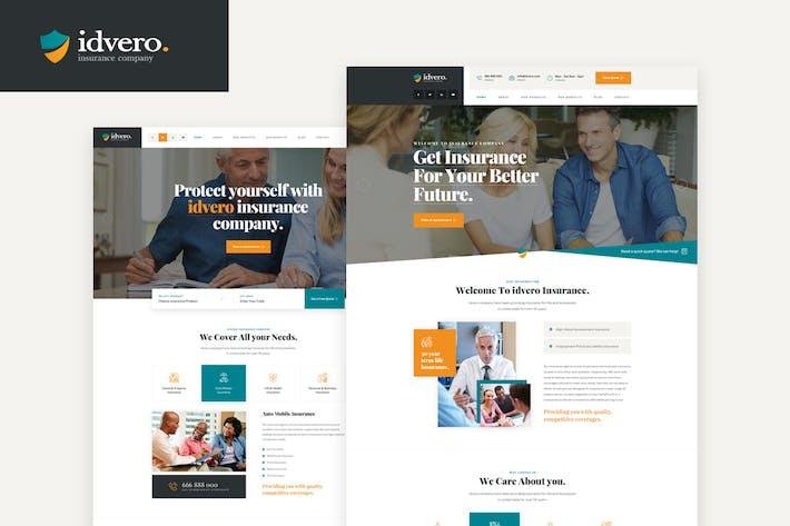 idvero - Modèle PSD de la compagnie d'assurance