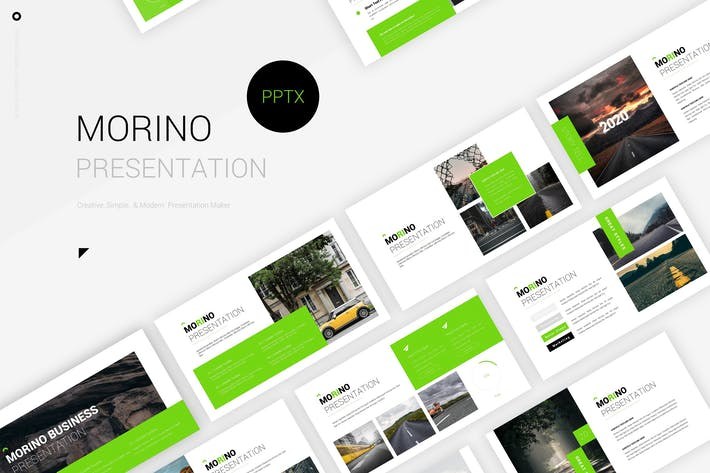 Thumbnail for Morino - Powerpoint Template