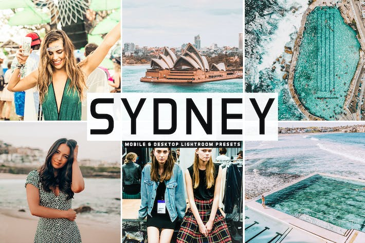 Thumbnail for Sydney Mobile & Desktop Lightroom Presets