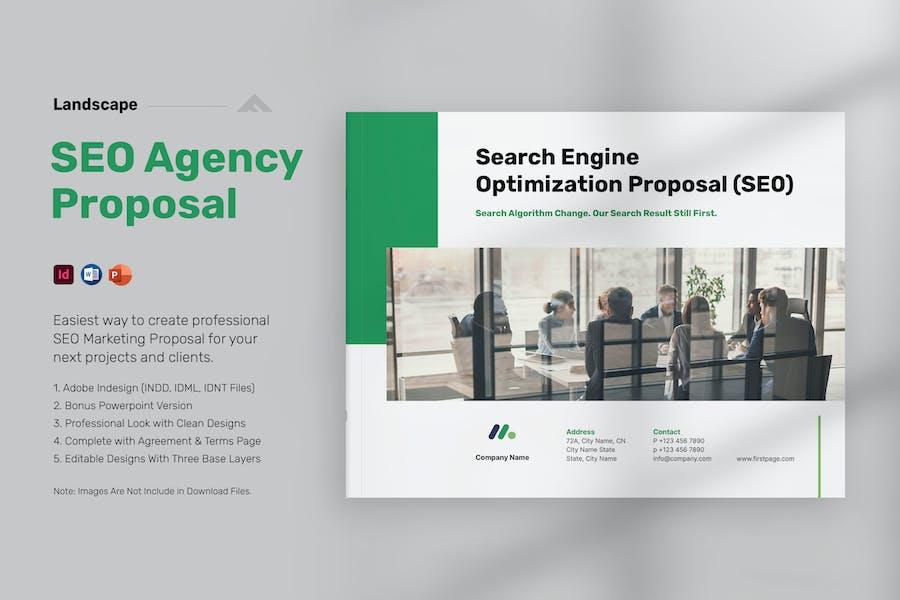 SEO Proposal Landscape - Powerpoint