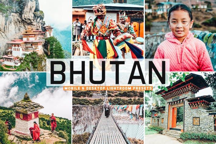 Thumbnail for Bhutan Mobile & Desktop Lightroom Presets