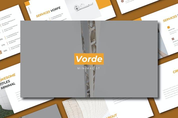 Thumbnail for Vorde Keynote