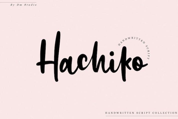 Thumbnail for Hachiko - Fuente manuscrita