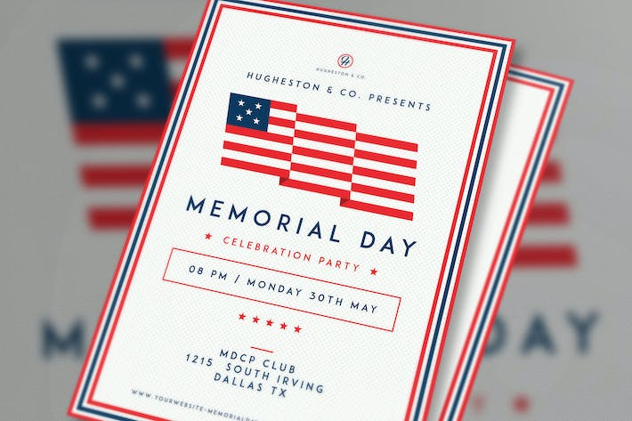 Thumbnail for Labor Day Flyer & Memorial Day Flyer