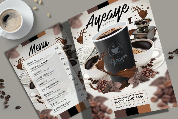 Kaffee-Menü