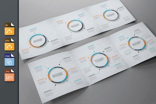 Infographics template set v.45
