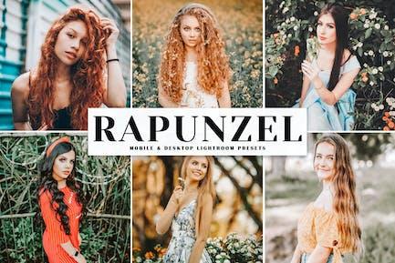 Rapunzel Mobile & Desktop Lightroom Presets