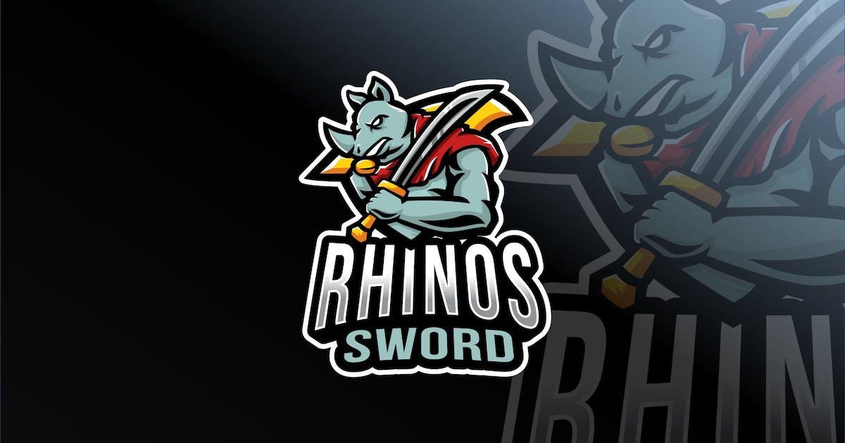 Download Rhinos Sword Esport Logo Template by IanMikraz