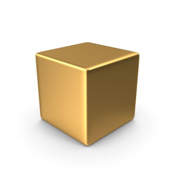 Goldener Würfel