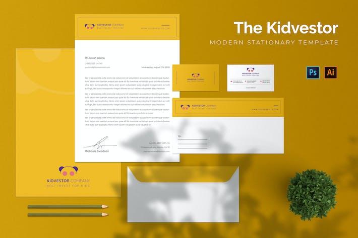 Thumbnail for Kidvestor Company - Stationary