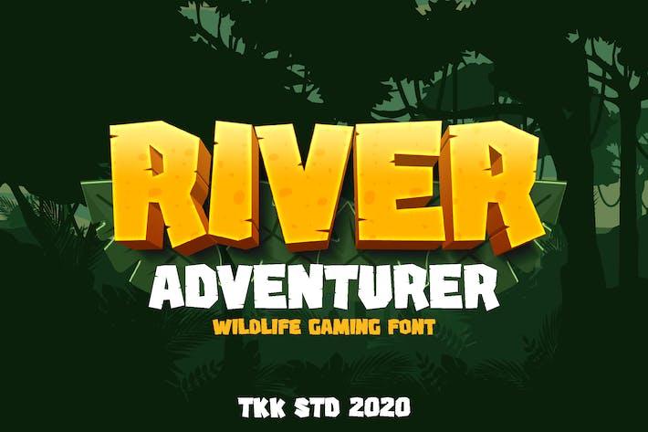 Thumbnail for River Adventurer - Bloque fuente para juegos