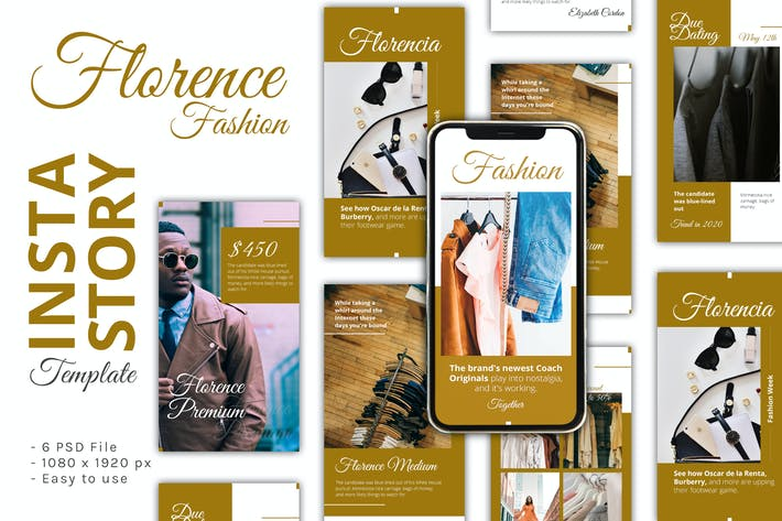 Thumbnail for Florencia Instagram Story Template