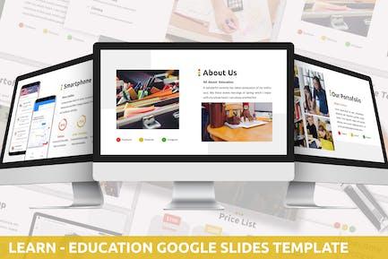 Learn - Education Google Slides Template