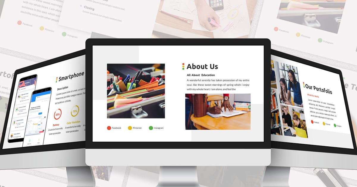 Download Learn - Education Google Slides Template by SlideFactory
