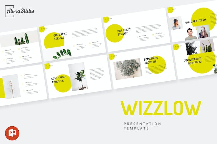 Thumbnail for Wizzlow - Creative Powerpoint Template