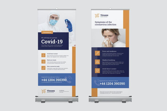 Thumbnail for Roll Up Banner – Medical Business