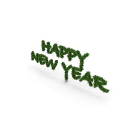 Tree Symbol Happy New Year