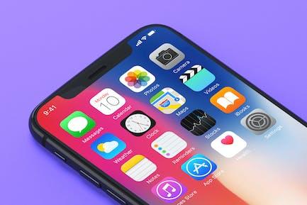 7 iPhone X Mockups