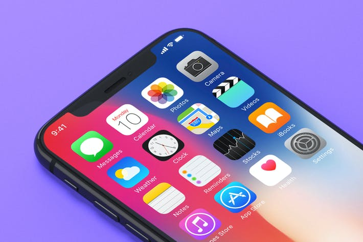 Thumbnail for 7 iPhone X Mockups