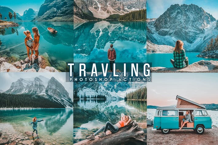 Thumbnail for Travel Blogger Photoshop Actions