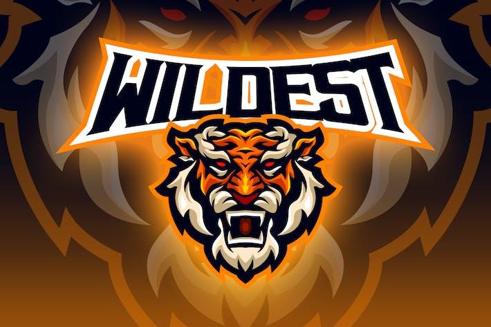 Thumbnail for Tiger Esport Logo