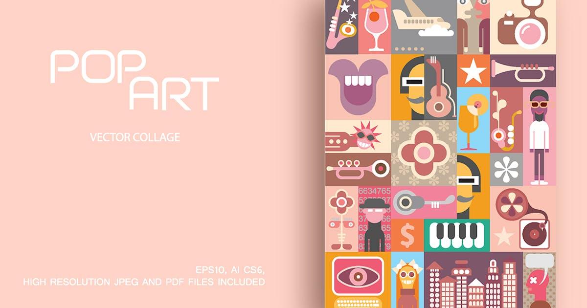 Party pop art vector design by danjazzia