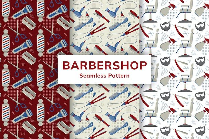 Thumbnail for Barbershop Motif sans couture