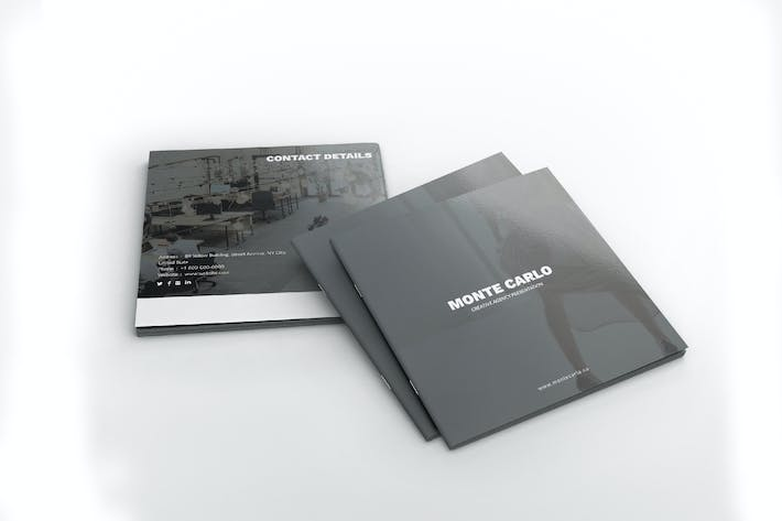 Thumbnail for Monte Carlo Creative Agency Square Brochure