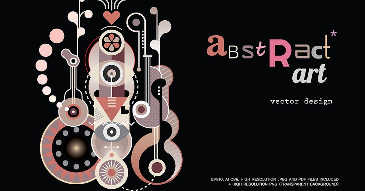 Download Abstract Art Design vector illustration by danjazzia