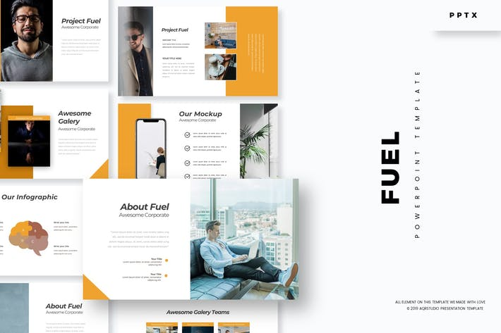Fuel - Powerpoint Template