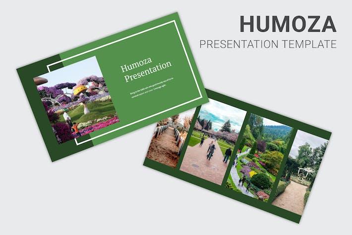 Thumbnail for Humoza - Pitch Deck Keynote