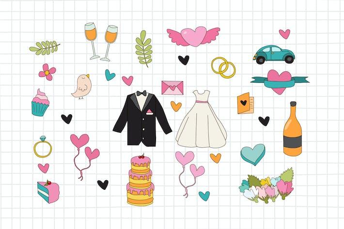 Thumbnail for Hochzeit Doodle