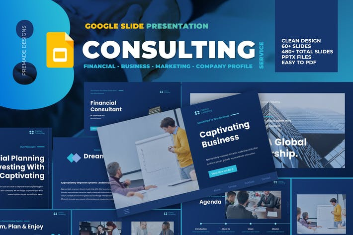 Thumbnail for Business Consulting Google Slide Template