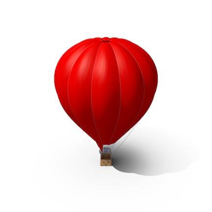 Globo de aire rojo