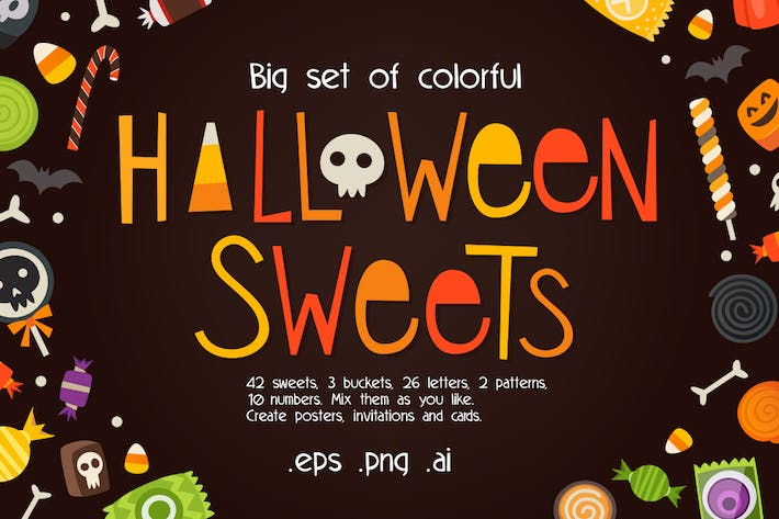 Thumbnail for Loads of sweets for Halloween